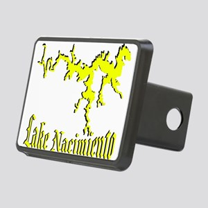 LAKE NACIMIENTO [4 yellow] Rectangular Hitch Cover